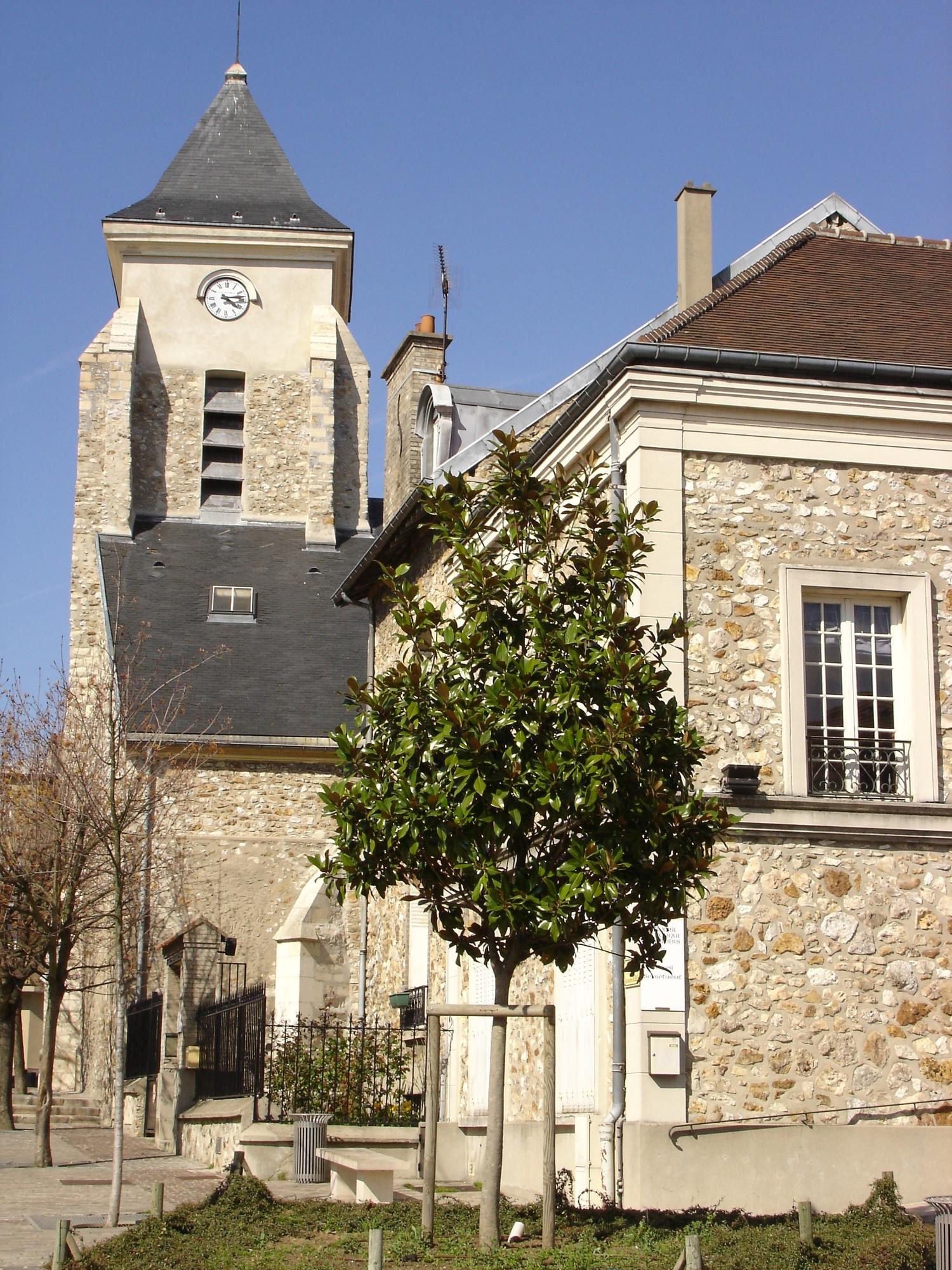 EGLISE SAINT-JACQUES SAINT-CHRISTOPHE À VILLIERS-SUR-MARNE