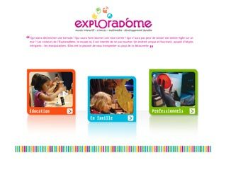 exploradome-site-web