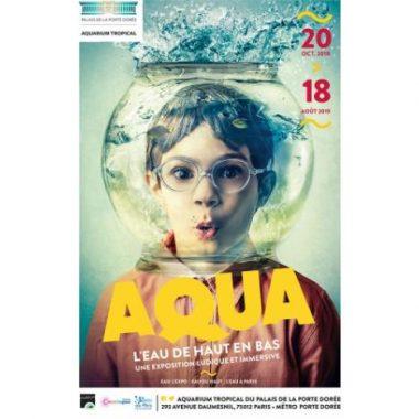 Exposition Aqua au Palais de la Porte Dorée