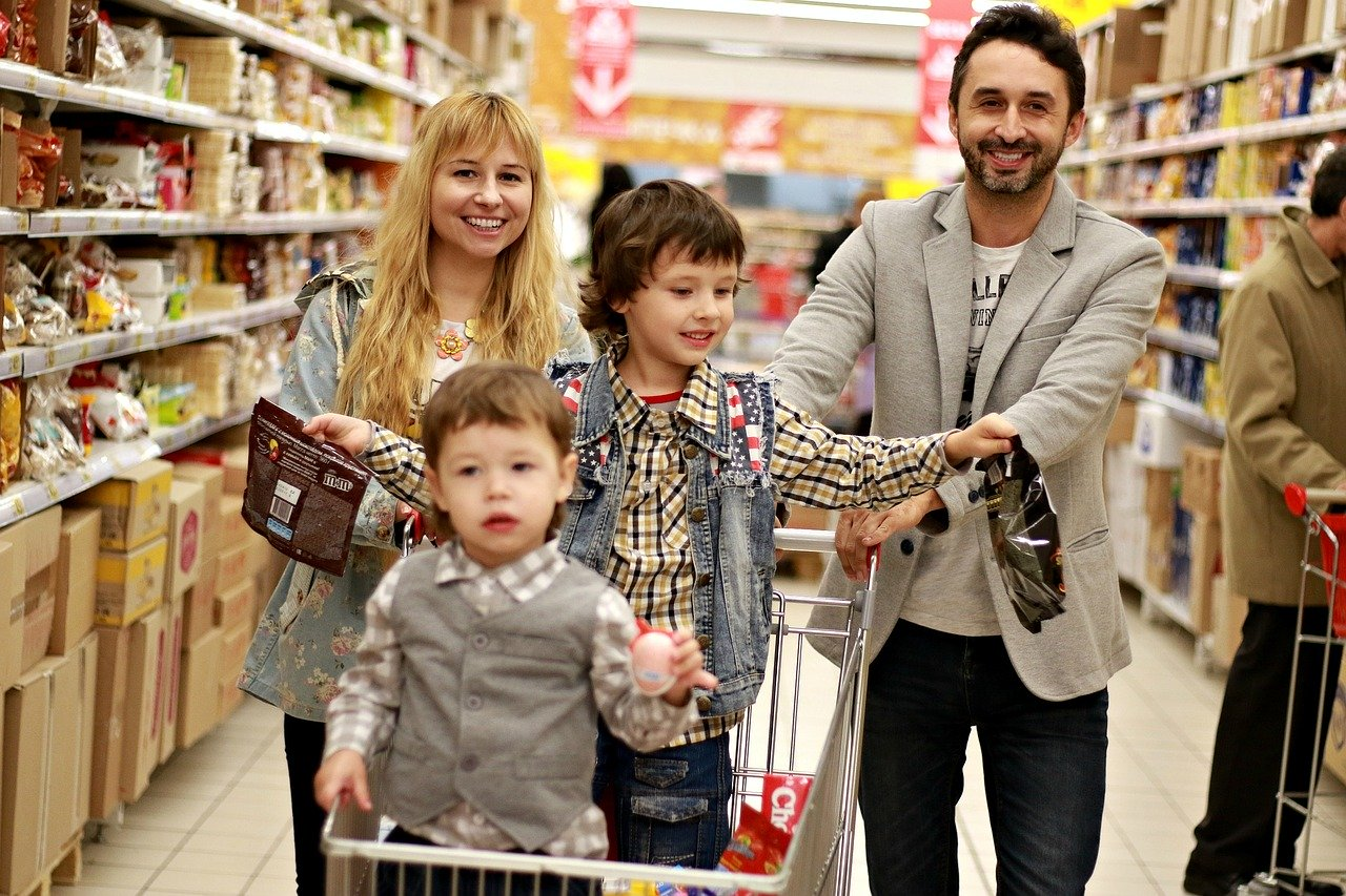 famille-shopping