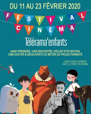 FESTIVAL de CINEMA TELERAMA ENFANTS