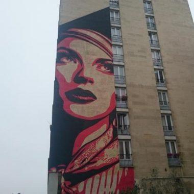 Fresques géantes dans le 13ème arrondissement – FESTIVAL PHENOMEN'ART