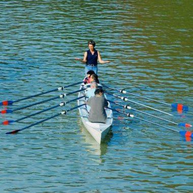 Initiation à l'aviron sur la Marne