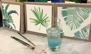 Peindre son Triptyque Jungle