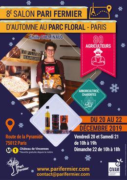 Marché de Noël au Parc Floral : Salon PARI FERMIER
