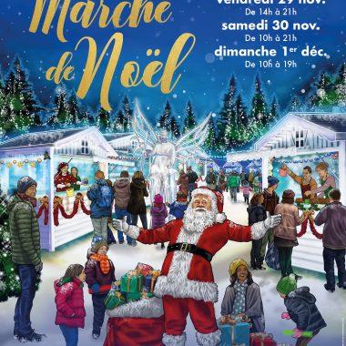 Marché de Noël à L'Haÿ-les-Roses