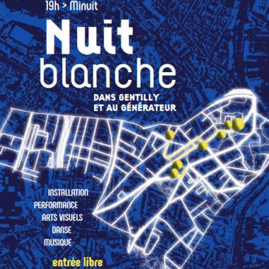 Nuit Blanche à Gentilly