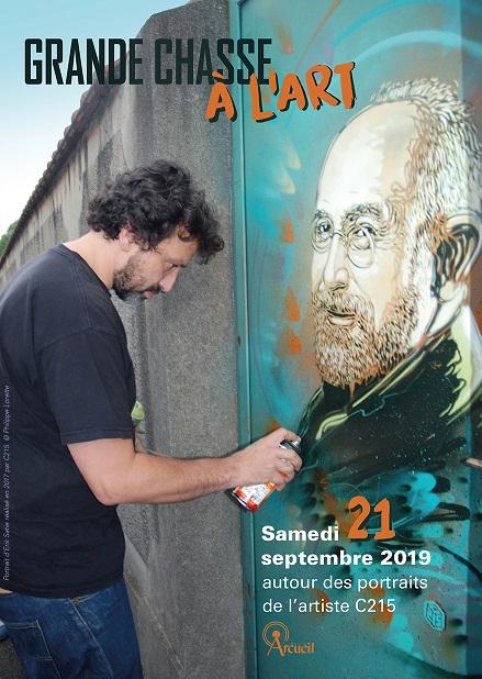 Exposition C215  «RECUEIL» et Chasse à l'Art