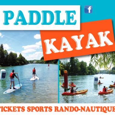 Randos-nautiques Paddle et Kayak – L'été à Nogent
