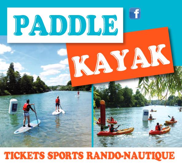 Randos-nautiques Paddle et Kayak – les dimanches de l'été à Nogent