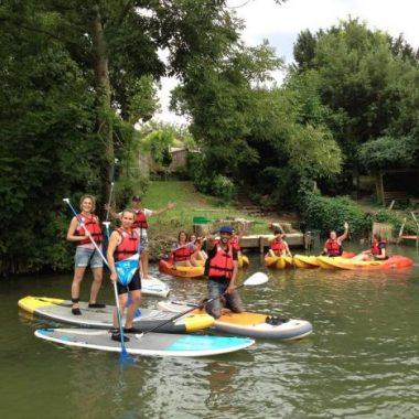 Randonnées en kayak depuis Nogent