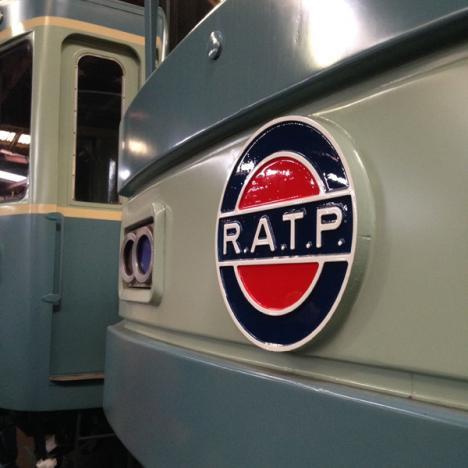 Un siècle de patrimoine roulant de la RATP