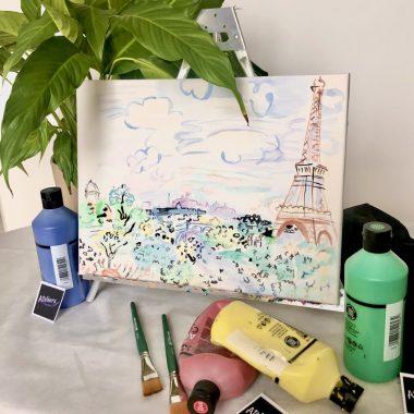 Peindre à la manière des artistes de Montmartre : DUFY