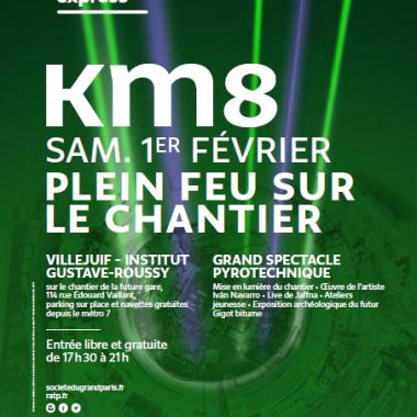KM8 – Fête de Chantier du Grand Paris Express