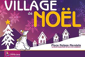 Marché de Noël, Animations et Patinoire à Chevilly-Larue