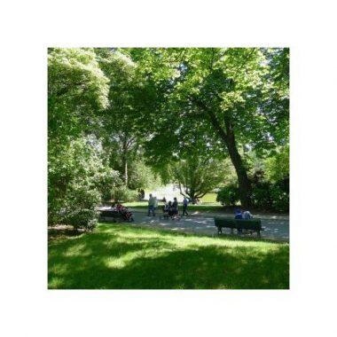 Le Parc Montsouris et les villas de la rue Nansouty
