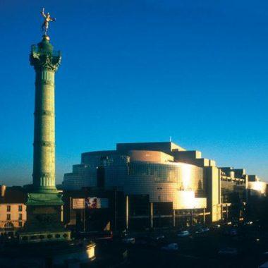 Un potager sur le toit de l'Opéra Bastille