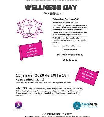 Wellness day 15ème édition